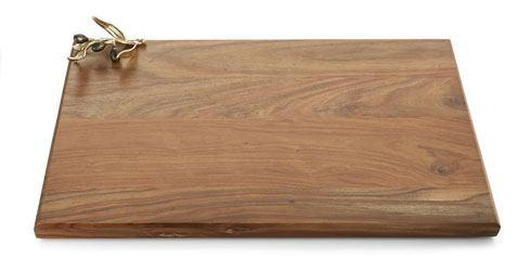 $165.00 Gold Oversized Wood Serving Board