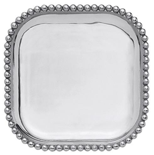 $79.00 Pearled Square Platter