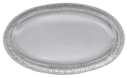 $69.00 Classic Fanned Oval Platter