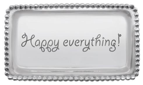 $39.00 Happy Everything Beaded Tray