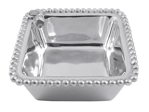 $32.00 Charms Beaded Square Bowl