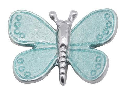 $15.75 Aqua Butterfly Charm