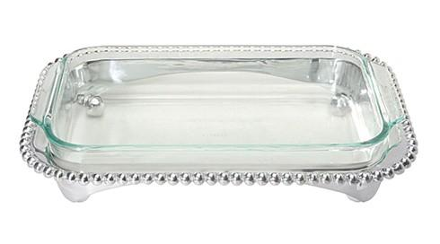 $139.00 Pearled Oblong Casserole Caddy