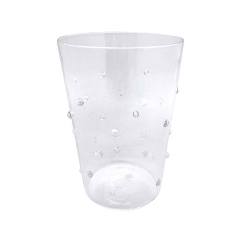 $39.00 Clear Dotty DOF Glass