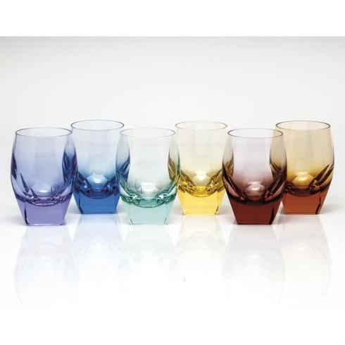 $1,455.00 D.O.F. 7.3 Oz. Set/6 Rainbow Colors