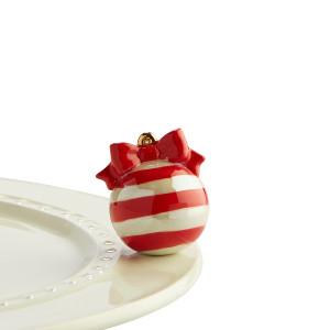 $13.50 Red and White Ornament mini