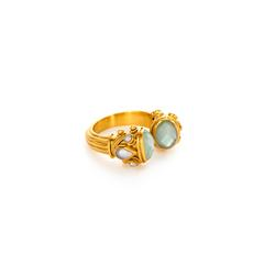 $165.00 Byzantine Ring, size 6/7