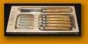 $75.95 Olive Wood Spreader/Butter Knives