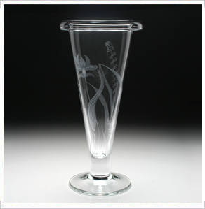 $225.00 Meadow Trumpet Vase