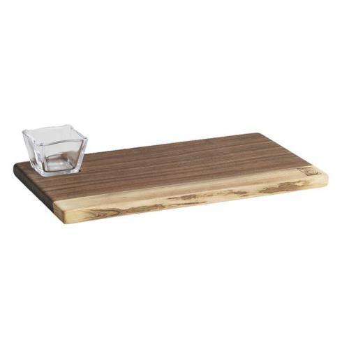 $140.00 Walnut Board with Bowl