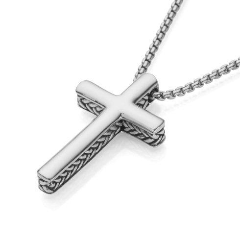 $275.00 Braid Cross Pendant