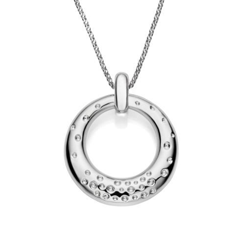 $350.00 Dazzle Circle Pendant Necklace