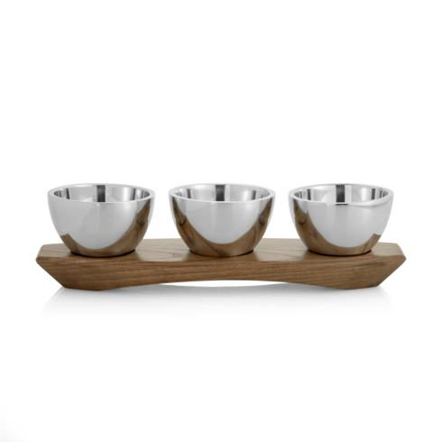 $120.00 Triple Condiment Server