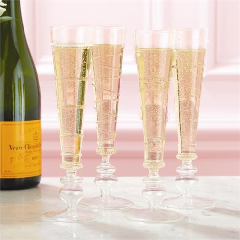 $96.00 Verre Champagne Flutes, Set of 4