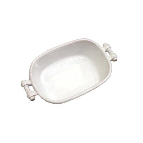 $68.00 Small White Casserole