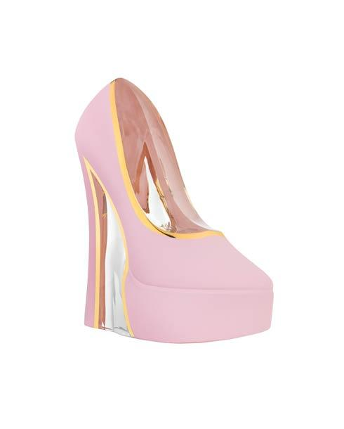 $100.00 Shoe (stiletto, pearl pink)