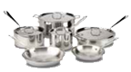 $900.00 Tri-Ply 10 pc Stainless Set