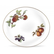 "$79.99 Evesham Oval Platter 15"""