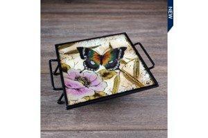 $9.99 Butterfly Trivet