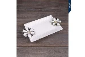 $8.49 Rectangle Tray with Handles