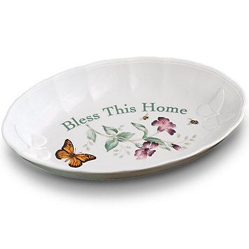 """$60.00 Butterfly Meadow 11"""" Platter"""