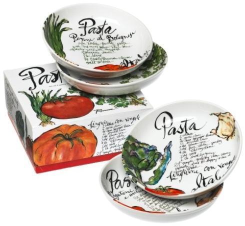 $66.00 Pasta Italiana set/4