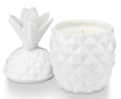 $28.00 Pineapple Ceramic Candle