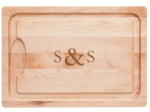 $65.00 Farmhouse Carver Laser Engraved with Initial