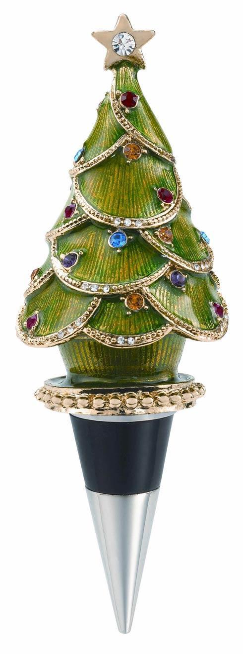 $65.00 Christmas Tree Bottle Stopper