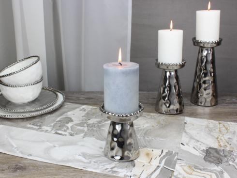 $16.25 Small Beaded Candle Holder