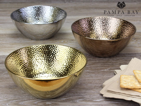 $20.00 Round Utility Bowl - Bronze Finish