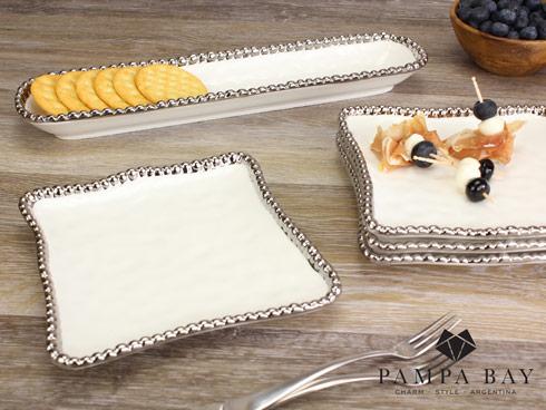 $16.25 Square Appetizer/Dessert Plate