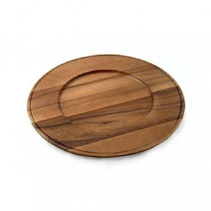 $22.00 Acacia Wood Charger