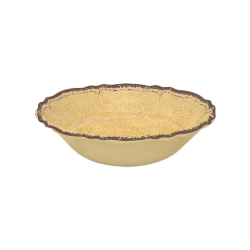 $14.95 Antiqua Mustard Cereal Bowl