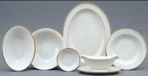 $169.00 Pickard Gold rim oval vegetable bowl