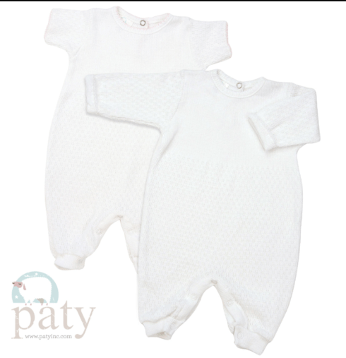 $32.00 Paty, Inc Long or Short Sleeve Romper