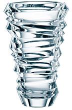 "$84.00 Slice Crystal Vase 11"""