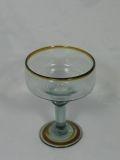 $12.00 Amber Margarita Glass
