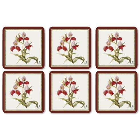 $15.00 Botanial Orchid Coasters