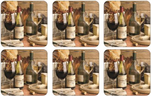 $15.00 Artisanal Wine Coasters