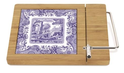 $30.00 Blue Italian Bamboo Cheese Board