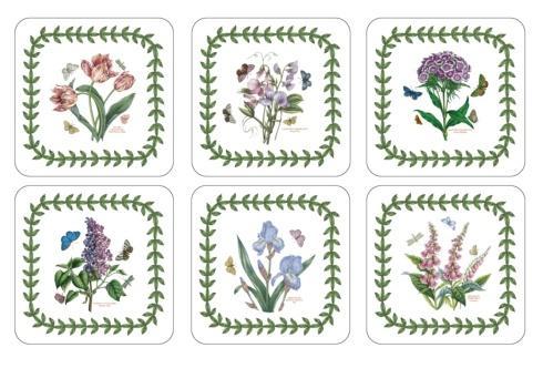 $15.00 Botanic Garden 6 Motifs Coasters