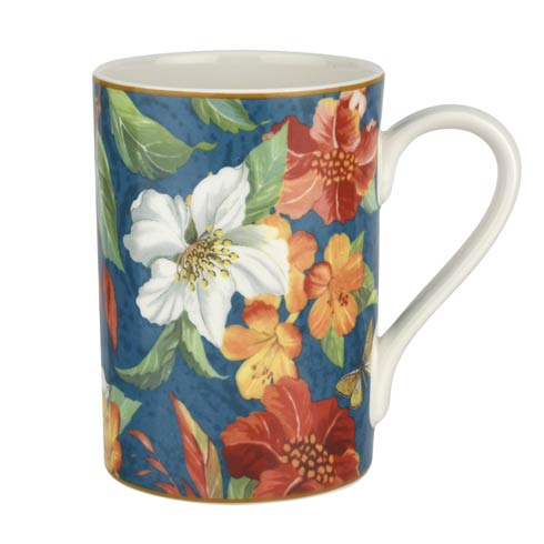 $39.96 12 oz Mug Blue - Set of 4