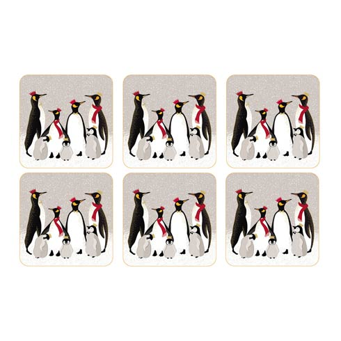 $15.00 Coasters - Set of 6 4.25 Inch Square