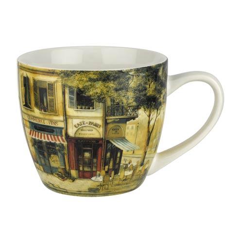 $19.96 Parisian Scene 16 oz Mug