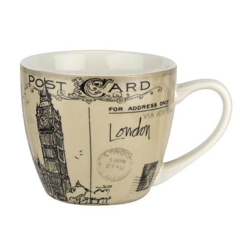 $19.96 Postcard Sketches 16 oz Mug