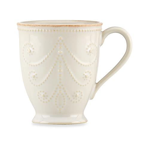 $20.00 French Perle White Mug