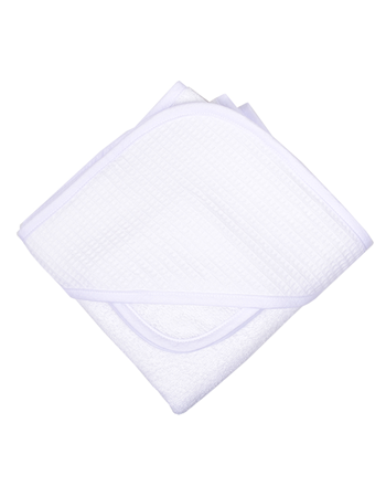 $34.00 Simply White Pique Boxed Towel Set