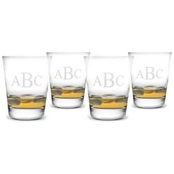 $65.00 Monogrammed Double Old Fashioned Glasses