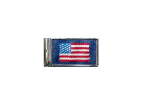 $85.00 American flag money clip
